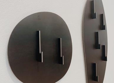 Wall ensembles - Steel Cobble Coat Rack - METAPOLY