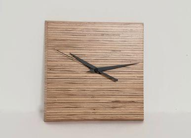 Horloges - HORLOGE MURALE RAYURES  - MARZOARREDA