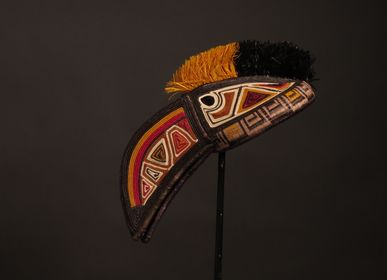 Decorative objects - Colored masks - ETHIC & TROPIC CORINNE BALLY