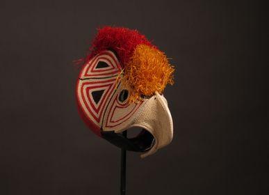 Pièces uniques - Les masques oiseaux tropicaux de la jungle - ETHIC & TROPIC CORINNE BALLY