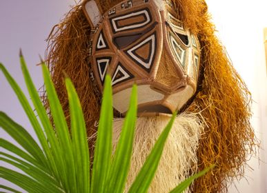 Decorative objects - The crazy masks - ETHIC & TROPIC CORINNE BALLY
