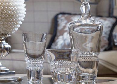Cristallerie - ADDENDUM Carafe à décanter, gobelet DOF et HB - MARIO CIONI & C