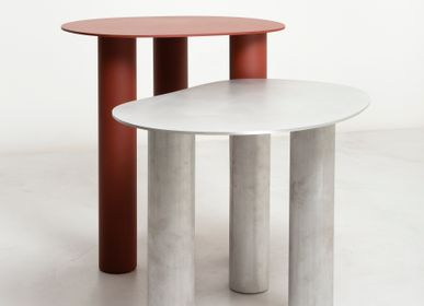 Tables basses - Table basse aluminium- Low Spline - METAPOLY
