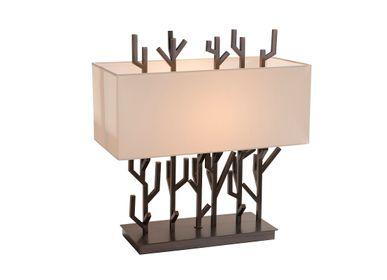 Table lamps - Carrock table lamp in dark brass finish - RV  ASTLEY LTD