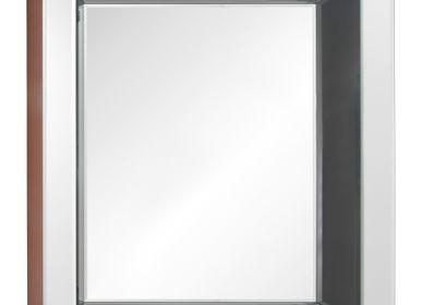 Mirrors - Murano Grey Detail Mirror - RV  ASTLEY LTD