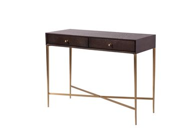Console table - Finley Console Table in Chocolate Finish - RV  ASTLEY LTD