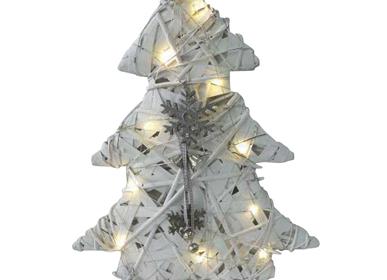 Autres décorations de Noël - Sapin en bois à LED - AUBRY GASPARD