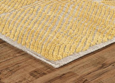 Tapis - Beautiful Golden Colorful Direct From Factory Hand Knotted Rugs and Carpets 1 - INDIAN RUG GALLERY