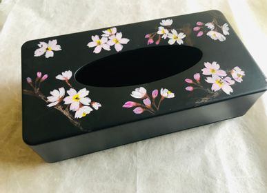 Coffrets et boîtes - Boîte à mouchoirs Sakura - WABI WORLD