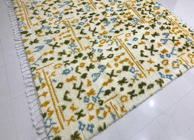 Design carpets - Colorful Luxurious Home Interior Decor Hand Knotted Moroccan/ Berber Rugs and Carpets 1 - INDIAN RUG GALLERY