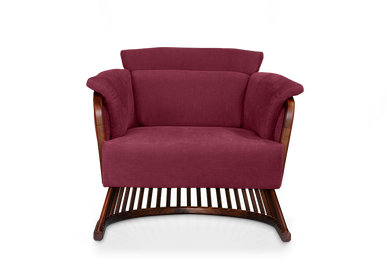 Armchairs - Johnson Armchair  - WOOD TAILORS CLUB