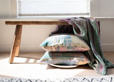 Other caperts - Kantha Sari throws & cushions - VAN VERRE