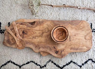 Platter and bowls - Olive wood boards - VAN VERRE
