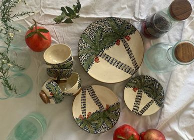 Ceramic - PALM DATES - Palm and Date Plates, Bowls and Dishes  - TAKECAIRE