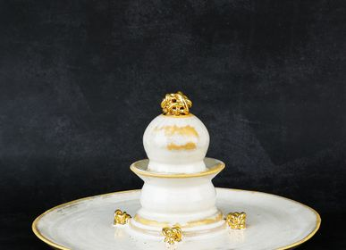 Platter and bowls - [LIEN CERAMIC] Dessert  Vase  Plate_B - DESIGN KOREA