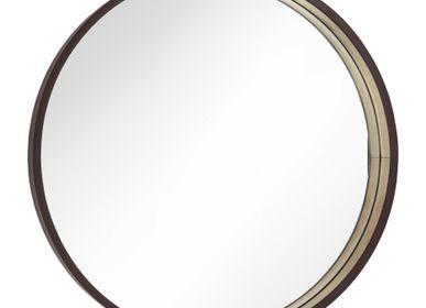 Miroirs - Miroir Alyn Dia 100cm en Chocolat - RV  ASTLEY LTD