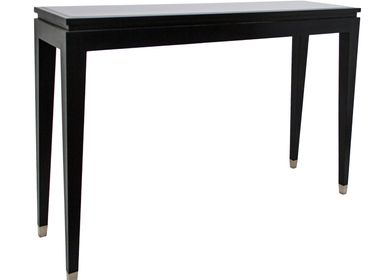 Console table - Black Mirror Top Console Table - RV  ASTLEY LTD