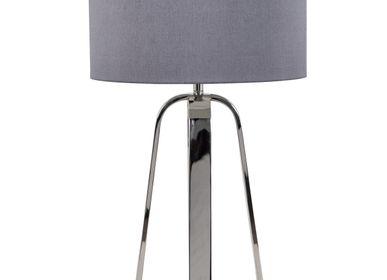 Lampes de table - Lampe de table Victoria Nickel - RV  ASTLEY LTD