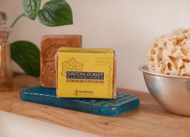 Gifts - Aleppo soap, olive oil (92%) and laurel oil (8%)  - KARAWAN AUTHENTIC