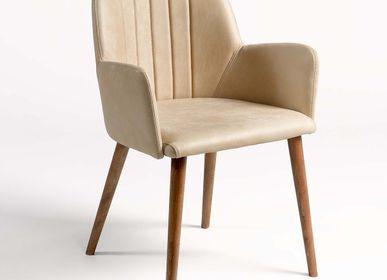 Loungechairs for hospitalities & contracts - ARMCHAIR CRAIG WOOD-B - CRISAL DECORACIÓN