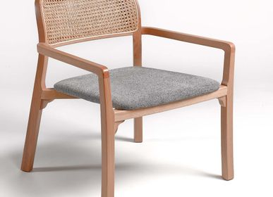 Loungechairs for hospitalities & contracts - ARMCHAIR AITANA - CRISAL DECORACIÓN