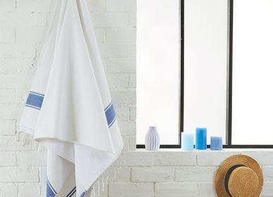 Autres linges de bain - Fouta Eponge Cyclades en coton recyclé - BY FOUTAS