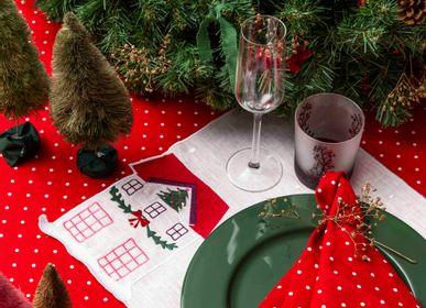 Christmas table settings - Christmas collection - LA GALLINA MATTA