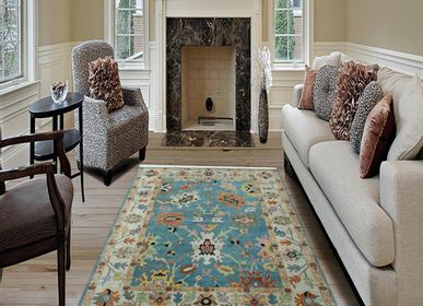 Other caperts - Cheap Hand Knotted Direct From Factory Oushak Vintage and Antique Oshak Customizable Rugs Carpets 2 - INDIAN RUG GALLERY