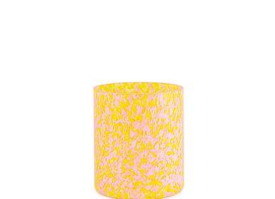 Vases - Vase Macchia su Macchia jaune et rose moyen - STORIES OF ITALY