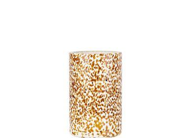 Vases - Macchia su Macchia Ivory & Amber Vase Tall - STORIES OF ITALY