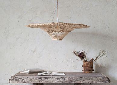 Decorative objects - Rattan Lamp Spin Top - MAHE HOMEWARE