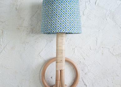 Children's lighting - Colonial Rattan Wall Lamp - MAHE HOMEWARE