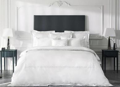 Linge de lit -  Parure de lit de luxe Nacrel Collection, blanc immaculé - CROWN GOOSE