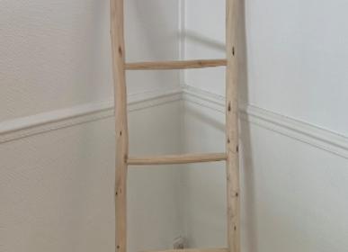 Objets de décoration - Echelle artisanale en bois  - MON SOUK FRANCE