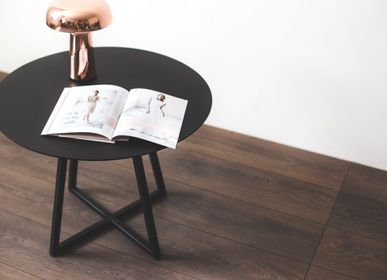 Coffee tables - METAL ROUND| COFFEE TABLE | NIGHT TABLE - IDDO