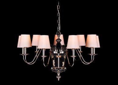 Ceiling lights - 9 Branch Chandelier - RV  ASTLEY LTD