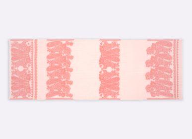 Foulards et écharpes - écharpe CARMEN - 100% COTON BIO - Jacquard lancé découpé - PETRUSSE PARIS