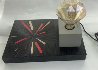 Table lamps - Diamond lamp - L'ATELIER DES CREATEURS