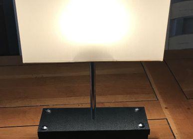 Table lamps - Black sun lamp - L'ATELIER DES CREATEURS