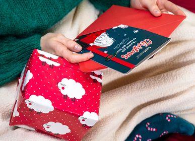 Papeterie - Lastword Christmas, carte de vœux avec signet - OZIO