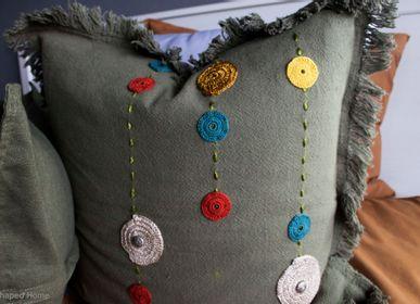 Fabric cushions - FANTASY SHADOW - E-SHAPED