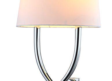 Wall lamps - Arianna Nickel Wall Lamp - RV  ASTLEY LTD