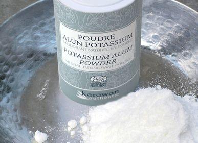 Cosmétiques - Pierre d'Alun potassium en poudre, certifiée Cosmos naturel - KARAWAN AUTHENTIC
