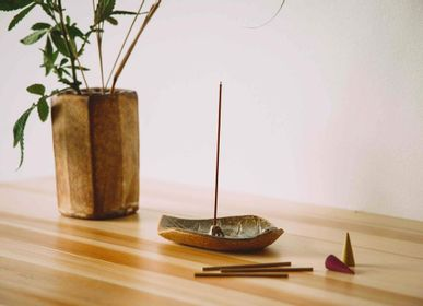 Aménagements pour bureau - Porte-encens Konoha/Leaf - SHOYEIDO INCENSE CO.