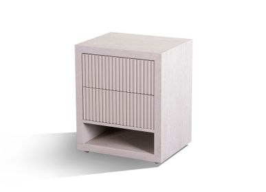 Night tables - Marans 2 drawer side table - RV  ASTLEY LTD