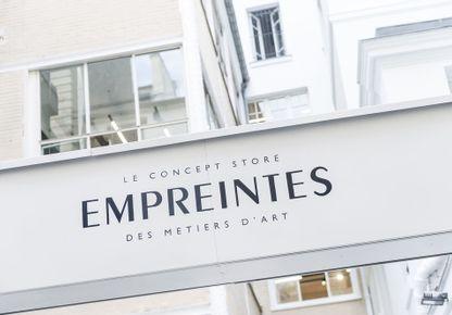 EMPREINTES - EMPREINTES, le concept store des métiers d'art