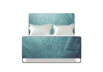 SAVOIR BEDS - Savoir X Bill Amberg - Ocean