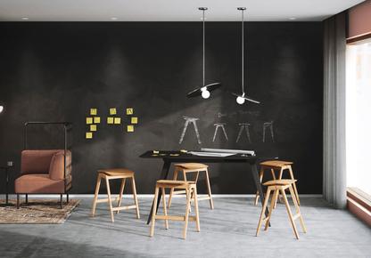 JON FAUSKE / OSLO SCHOOL OF ARCHITECTURE AND DESIGN - Knekk Stool