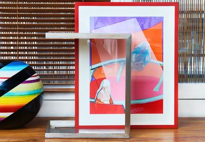 ALICE ALADJEM DESIGNS - «Table cadre, la petite »