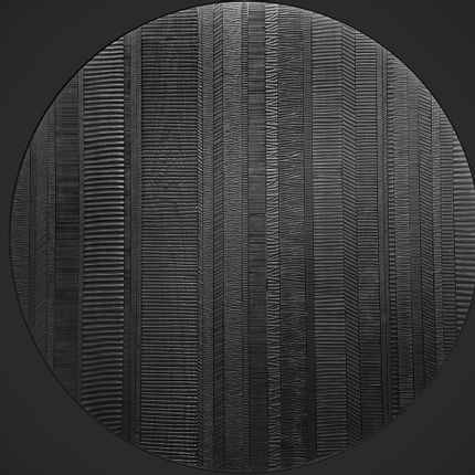 Unique pieces - Round wall panel - BENOIT AVERLY
